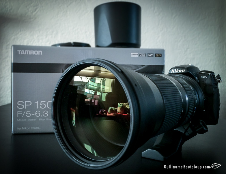 Tamron SP 150-600mm F/5-6.3 Di VC USD monté sur D300s