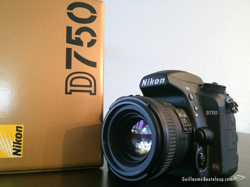 Nikon D750 et Nikkor 50 1.4 AF-S